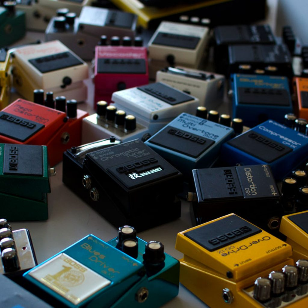 BOSS Compact Pedals