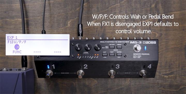 MS-3 W/P/F setting