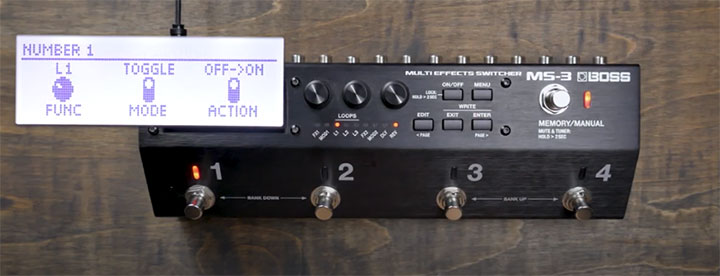 MS-3 Memory/Manual Mode